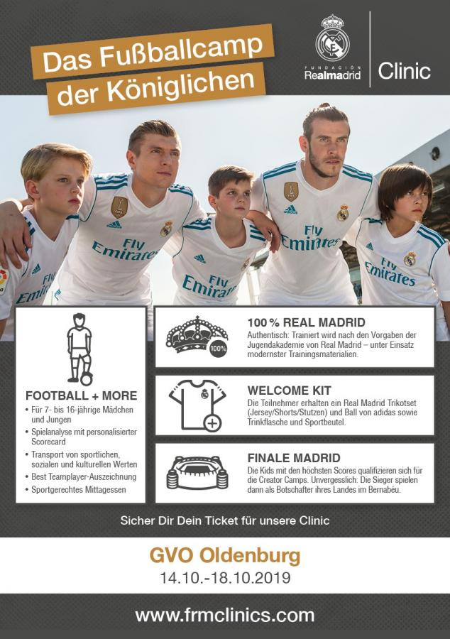 Fundación Real Madrid Clinic im GVO Sportpark