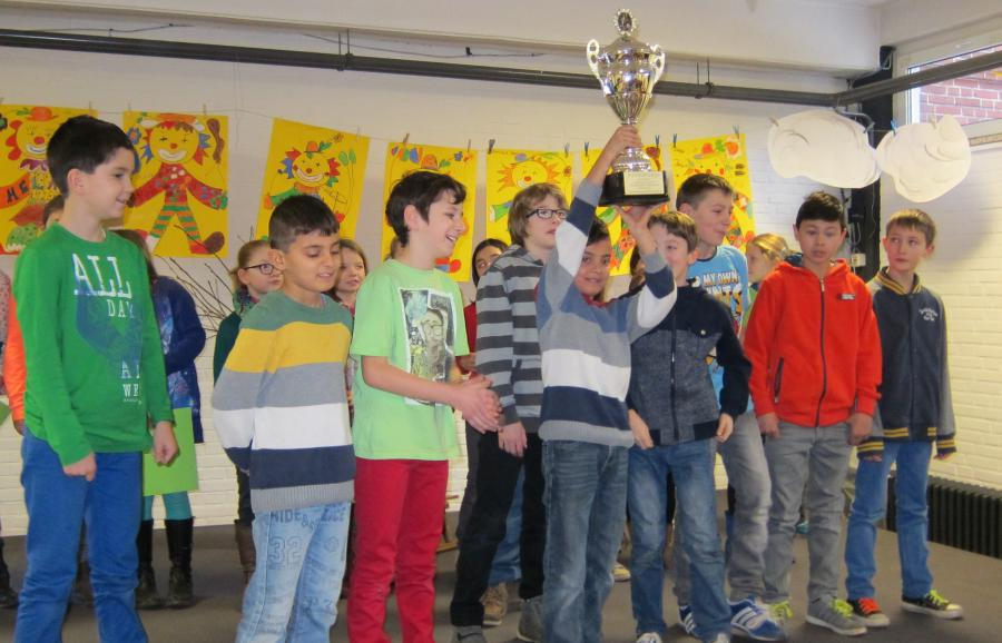 Der Pokal gehört uns - Stadtmeisterschaft 2014 - Siegerehrung