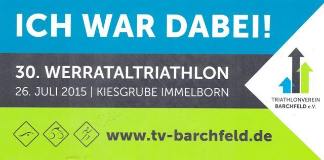 FV 2015.07.26 30.Werratal-Triathlon