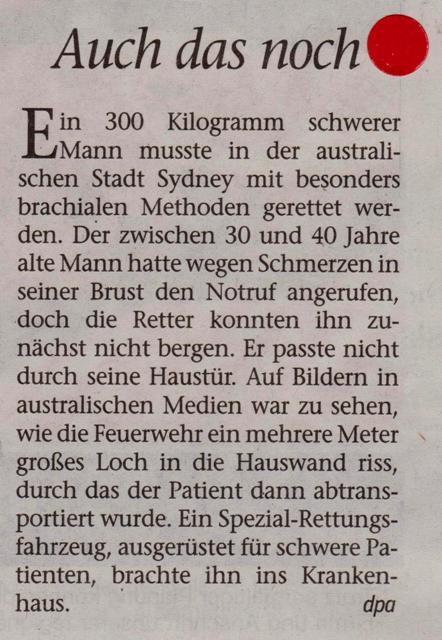 FW 2014.07.04 Der schwere Patient