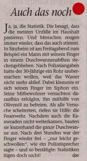 FW 2014.08.11 Finger im Siphon