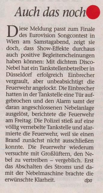 FW 2015.05.23 Disconebel vergrault Einbrecher