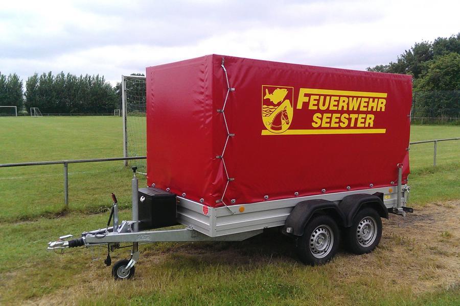 Feuerwehranhänger-Transport FwA-T (Foto: Feuerwehr Seester)
