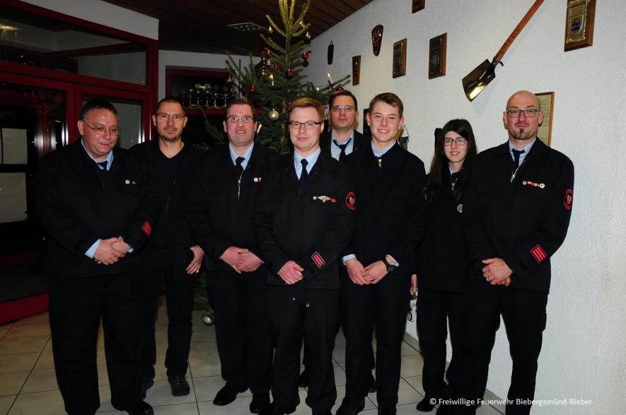 Neugewählter Vorstand des Feuerwehrvereins