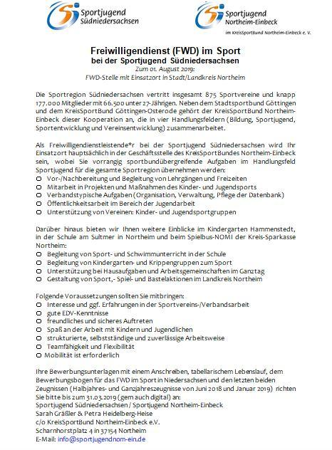 FWD SJ Südniedersachsen