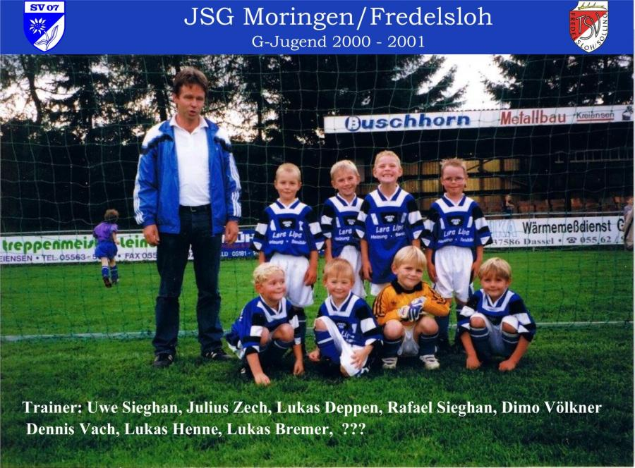 G-Jugend 2000 - 2001