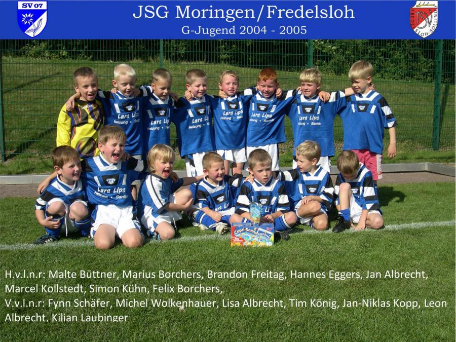 G-Jugend 2004 - 2005