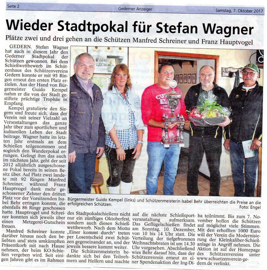 Gederner Anzeiger 7.10.2017