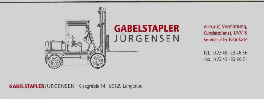 Gabelstapler Jürgensen