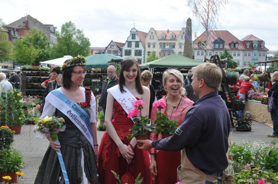 Blumen- und Gartenmarkt Erfurt 2015