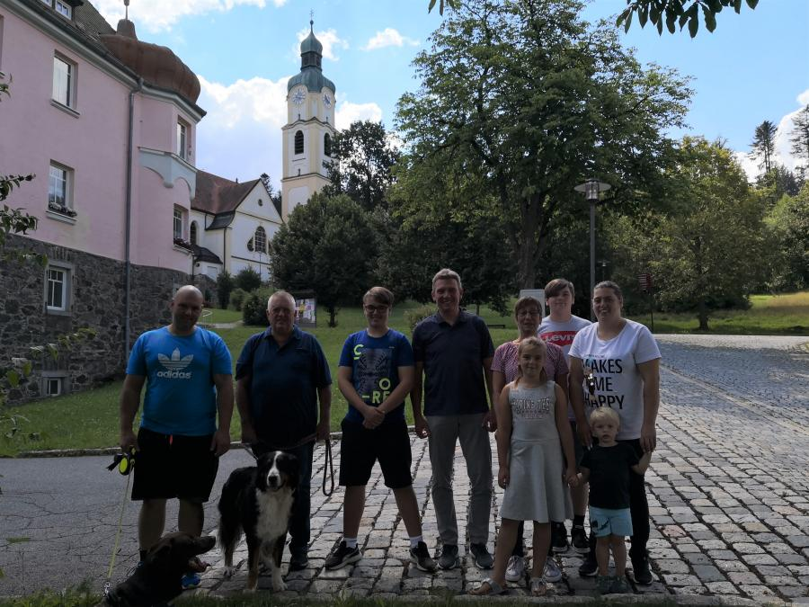 Gästeehrung Familie Ernst & Weiske