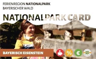 NationalparkCard- Eisensteiner Gästekarte