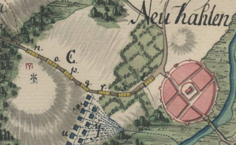 Kartenausschnitt 1762 (2)