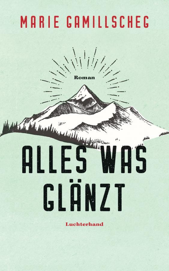 """Buchcover Marie Gamillscheg """"Alles was glänzt"""""""