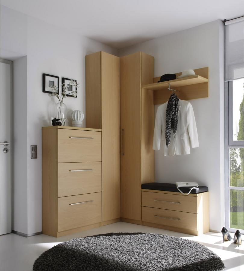 Eck-Garderobe