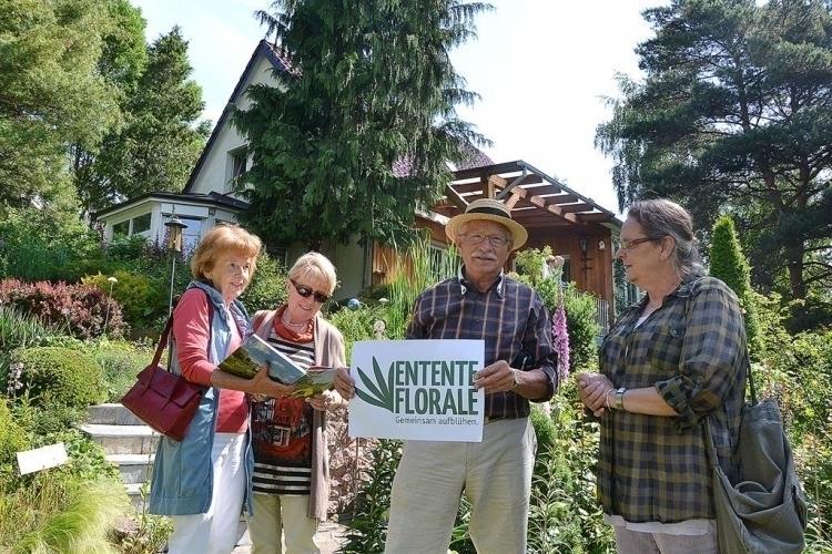 Entente Florale - ich bin dabei, so Lothar Becker