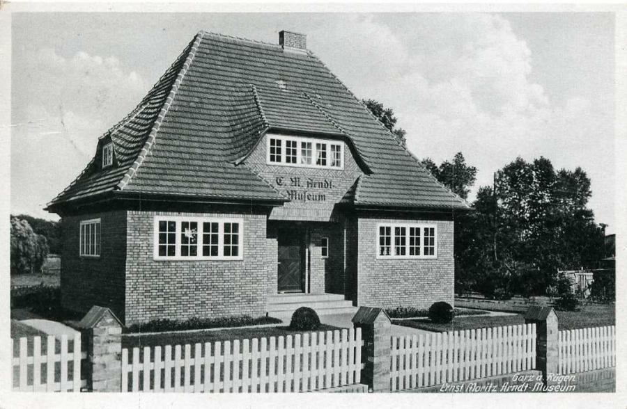 Garz a Rügen Ernst Moritz Arndt Museum