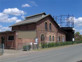 Gaswerk Neustadt (Dosse) - Außenansicht