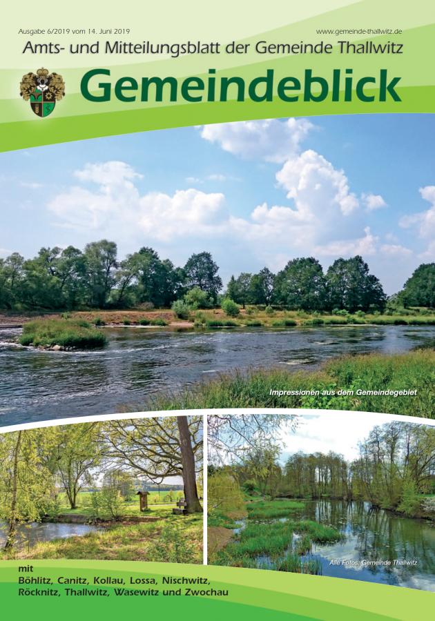 Gemeindeblick 06/2019