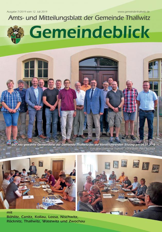 Gemeindeblick 07/2019