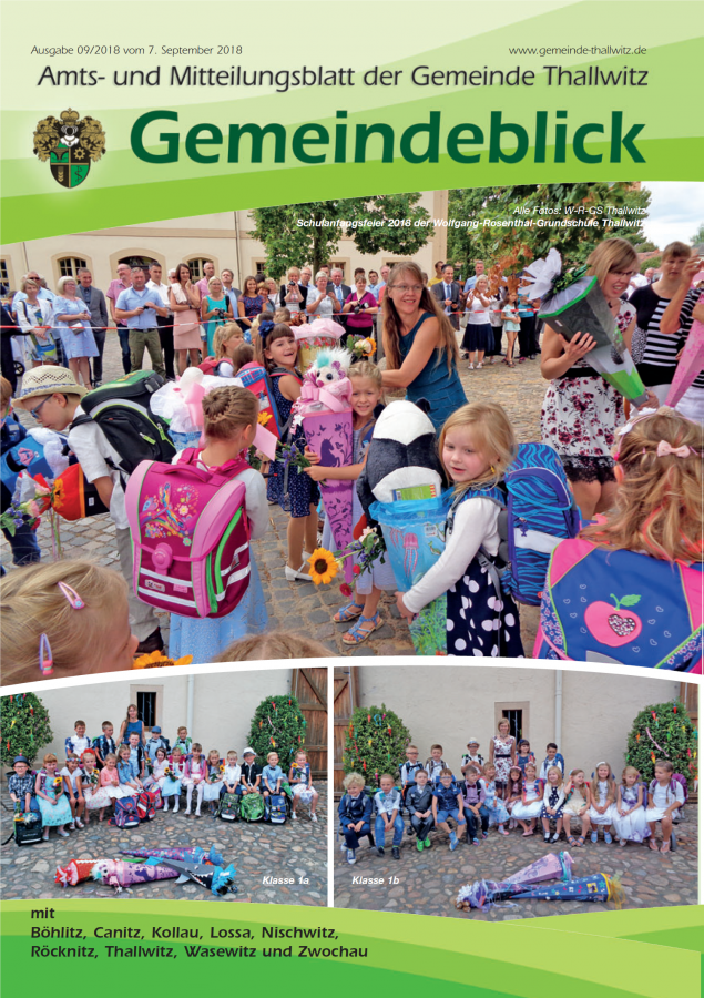 Gemeindeblick 09/2018