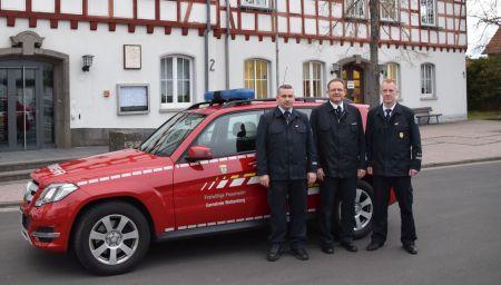 Gemeindebrandinspektor und seine Stellvertreter im Jahr 2017