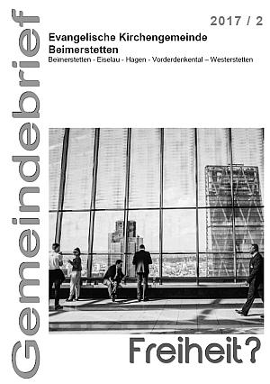 Gemeindebrief 2017-2