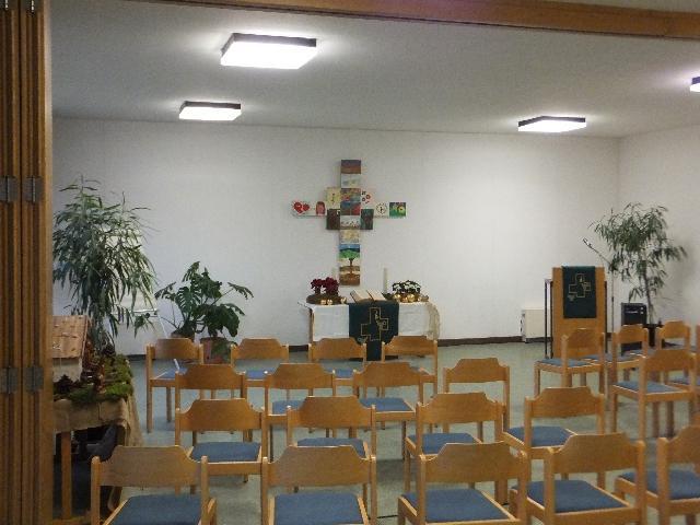 Ev. Gemeindehaus Beimerstetten: Saal
