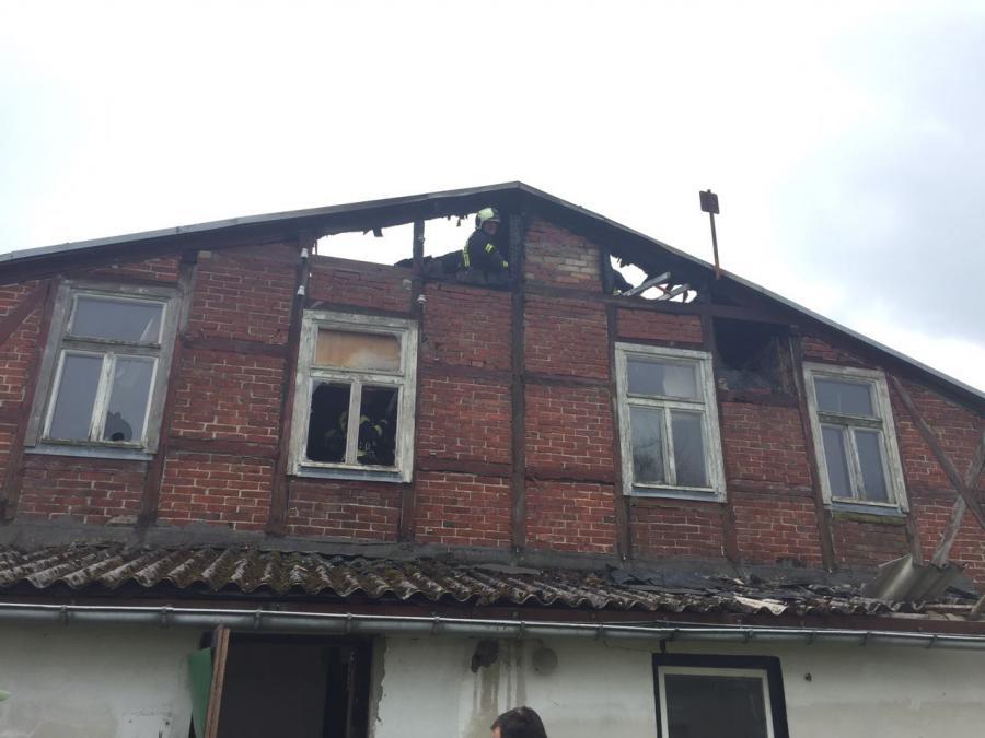 Gebäudebrand Vilmnitz 10.4.2017