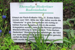 Gedenktafel Radrenntafel