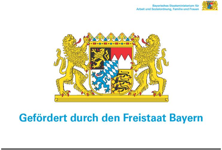 Gefördert durch Freistaat Bayern