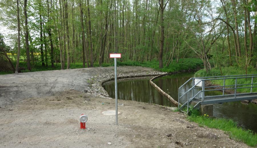Wasserentnahmestelle Gehmkow