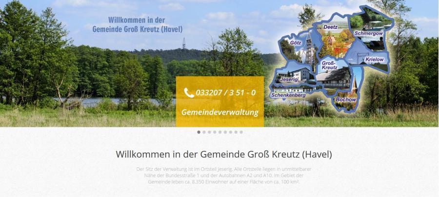 Gemeinde Groß Kreutz (Havel)