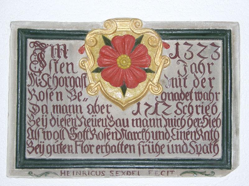 Wappenstein von Marktschorgast