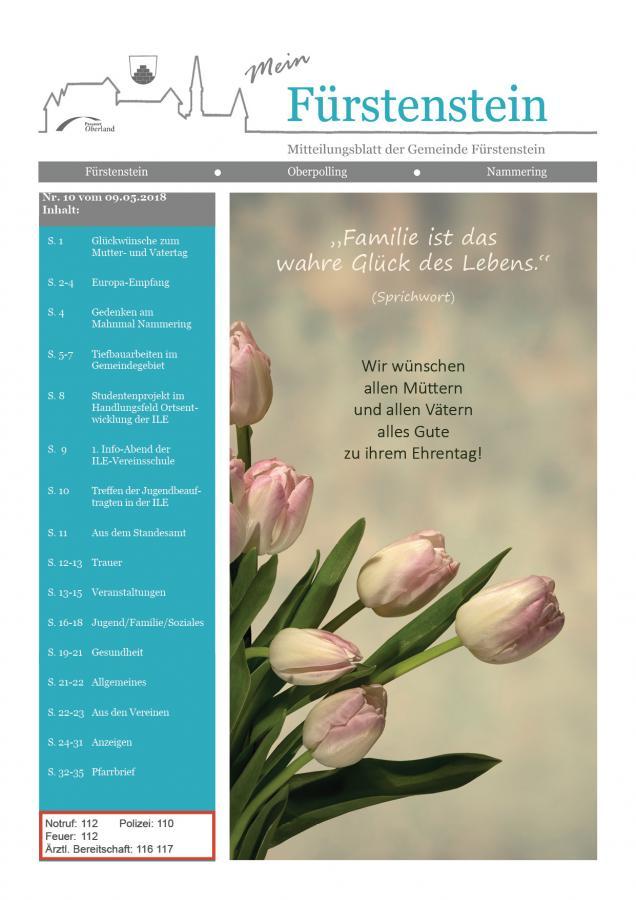 GB 10 Titelblatt