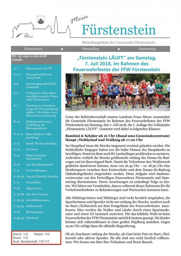 Titelblatt GB 13