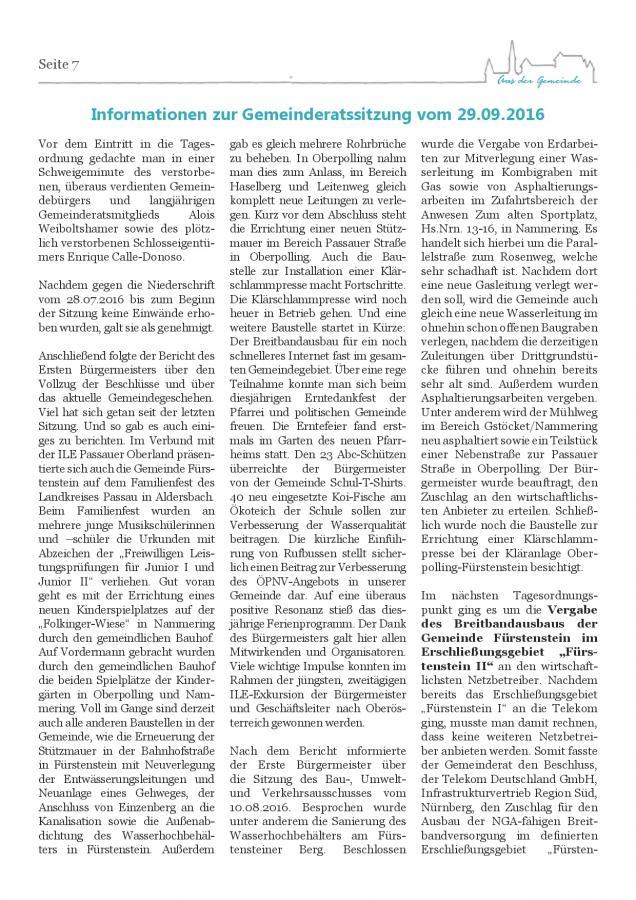 Gemeindeblatt Nr. 21, S.7