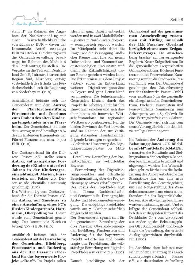 Gemeindeblatt Nr. 21, S.8