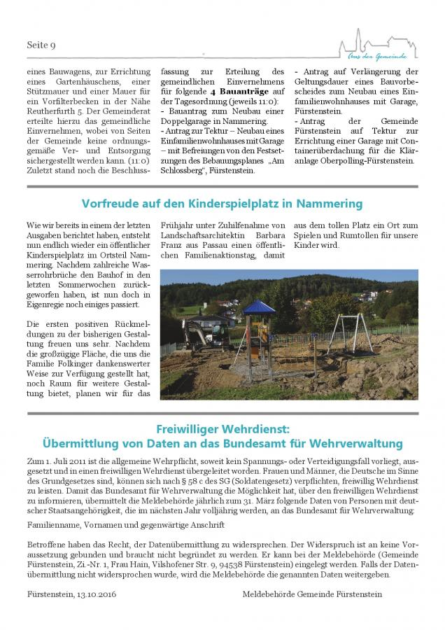 Gemeindeblatt Nr. 21, S.9