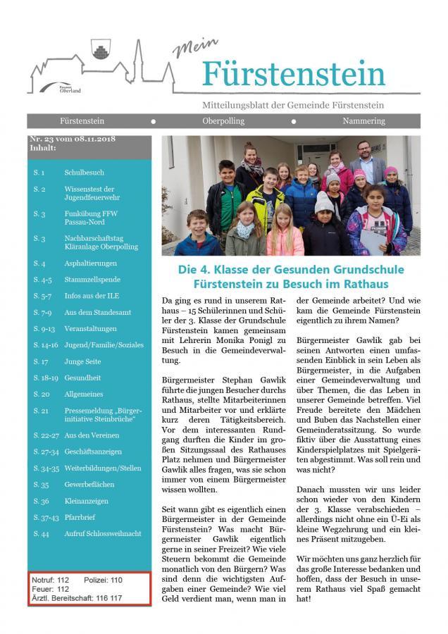 Titelblatt GB 23