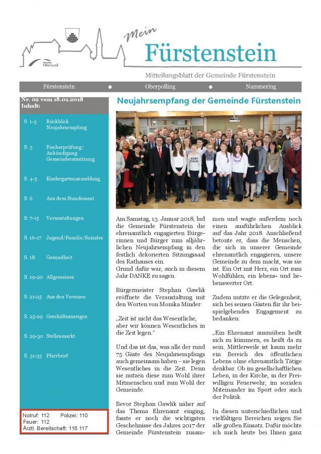 Gemeindeblatt Nr.2  -S.1