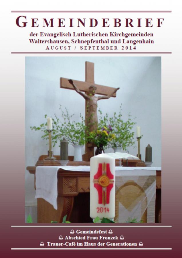 Titel Gemeindebrief 08-09 2014
