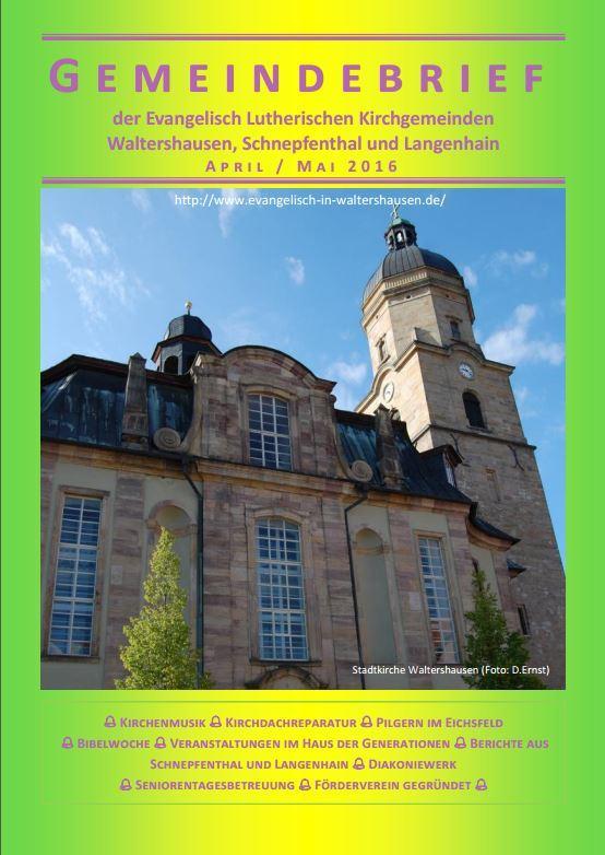 Gemeindebrief 04-05 2016