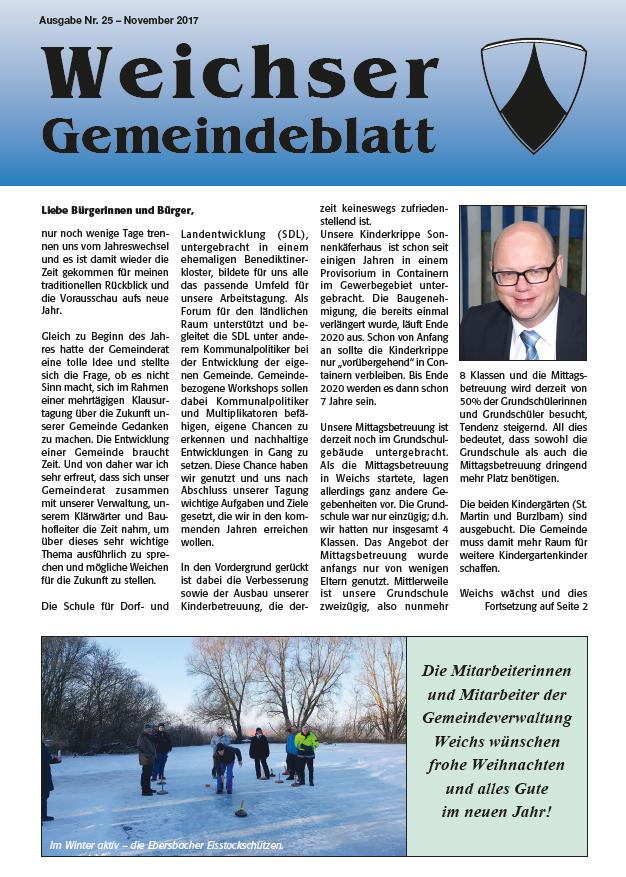 Gemeindeinfoblatt Bild