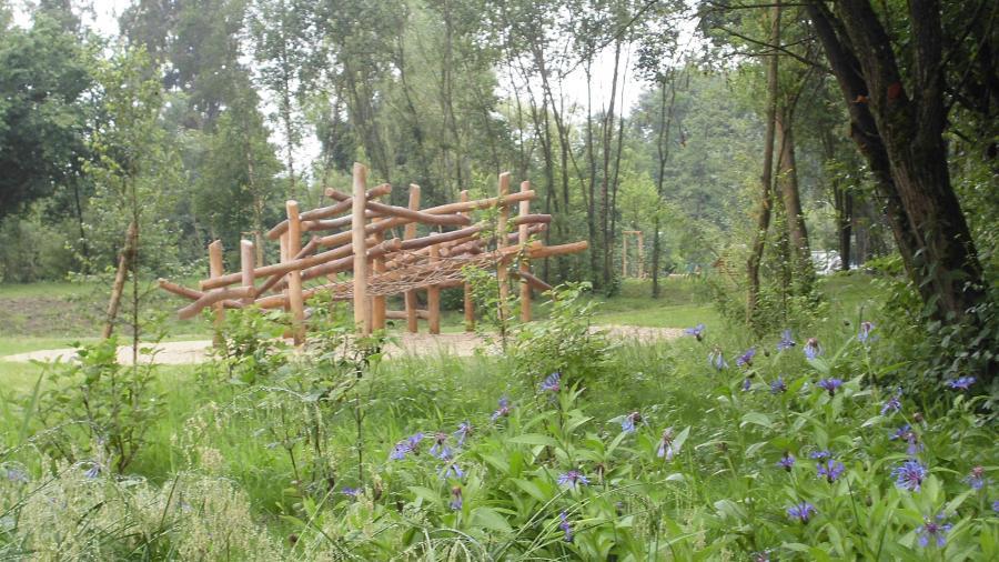Generationenpark Klettergerüst
