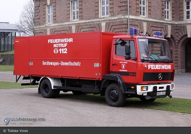Gerätewagen - Gefahrgut