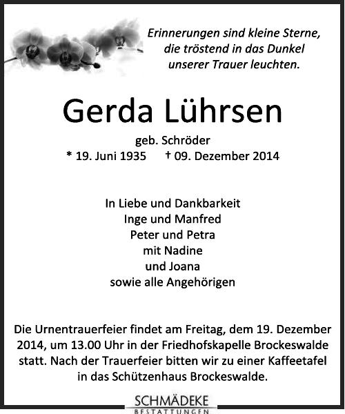 Gerda Lührsen