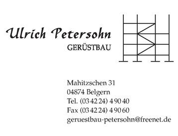 Gerüstbau Petersohn Mahitzschen