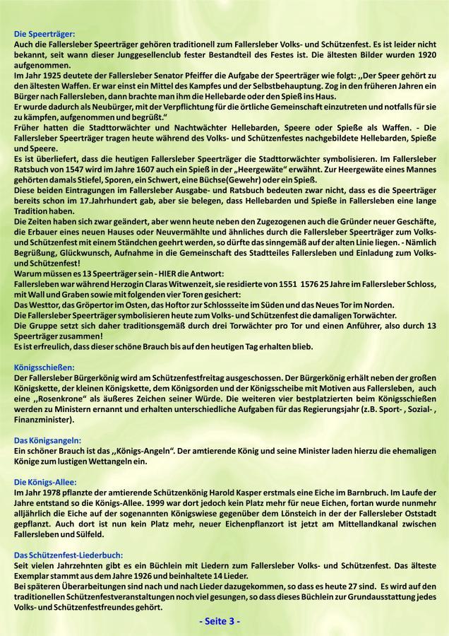 Geschichte Fallersleber Volks- und Schützenfest Seite 3