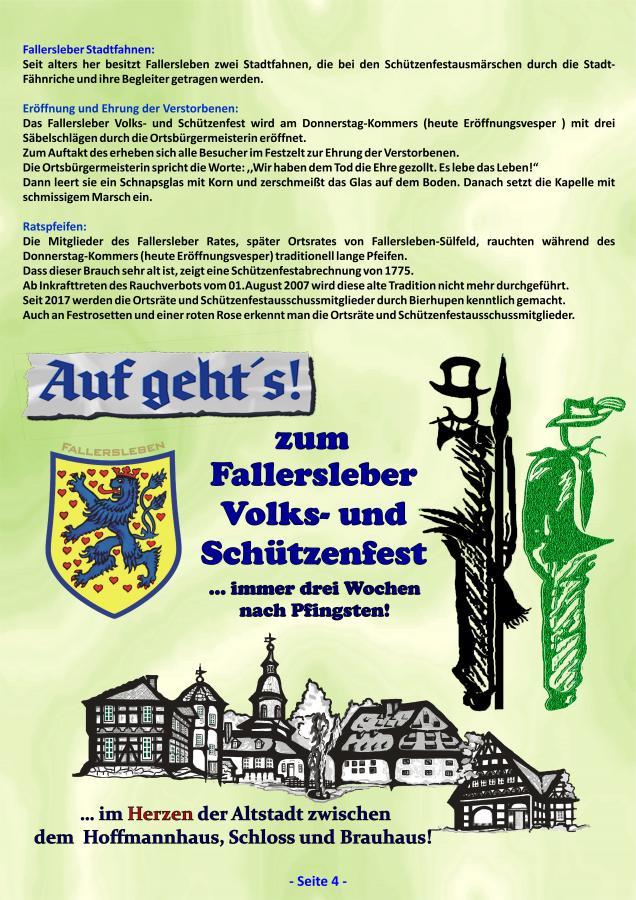 Geschichte Fallersleber Volks- und Schützenfest Seite 4